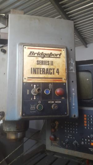 FRESATRICE CNC BRIDGEPORT SERIES II INTERACT 4 (Fallimenti)